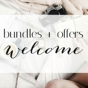 Bundles and offers welcome!
